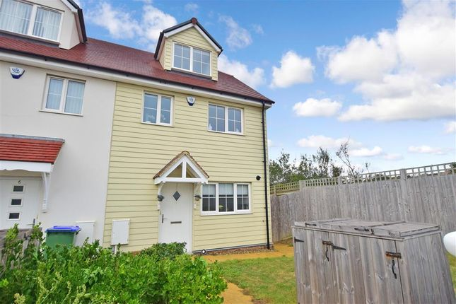 Thumbnail End terrace house for sale in Friars Close, Peacehaven, East Sussex