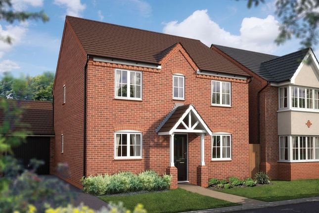 Thumbnail Detached house for sale in Haughton Road, Shifnal