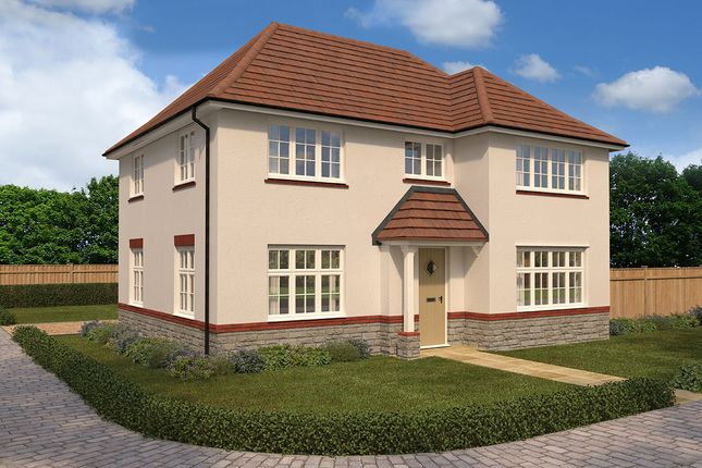 "Thumbnail Detached house for sale in ""Shaftesbury"" at Cae Newydd, St. Nicholas, Cardiff"