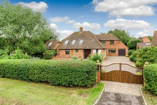 Thumbnail Detached house for sale in Newport Road, Woolstone, Milton Keynes