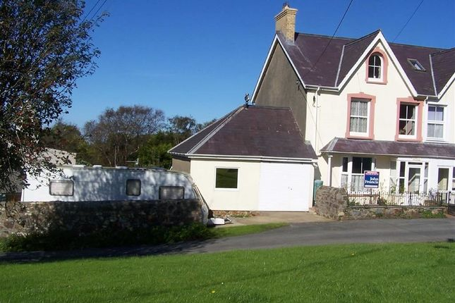 Thumbnail Semi-detached house for sale in Bryngelli, Dinas Cross, Newport