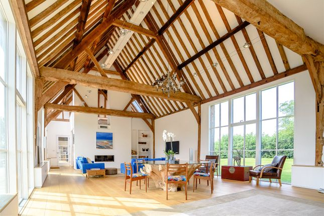 Thumbnail Barn conversion for sale in The Green, Lyford, Oxfordshire