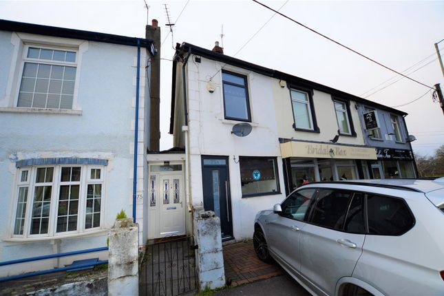Thumbnail End terrace house for sale in Llantrisant Road, Pontyclun
