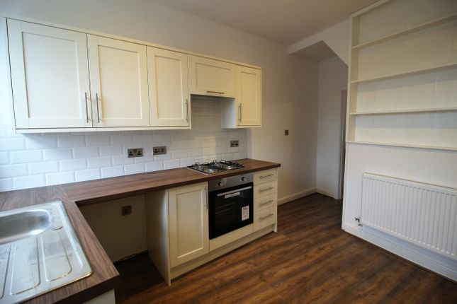Thumbnail 2 bed terraced house to rent in Woolley Bridge Road, Hadfield, Glossop