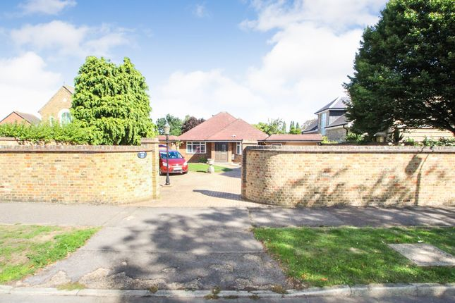 Thumbnail Detached bungalow for sale in Palace Road, East Molesey