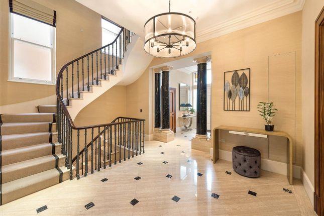 Hallway of Upper Phillimore Gardens, Kensington, London W8