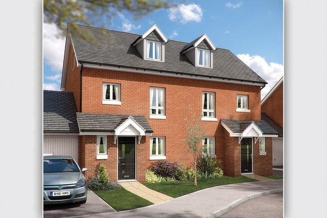 """Thumbnail Town house for sale in """"The Tetbury"""" at Chard Road, Axminster"""