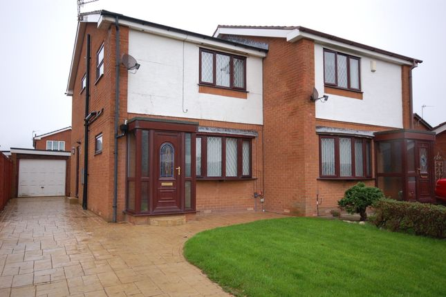 Thumbnail Semi-detached house for sale in Bowgreave Close, Blackpool