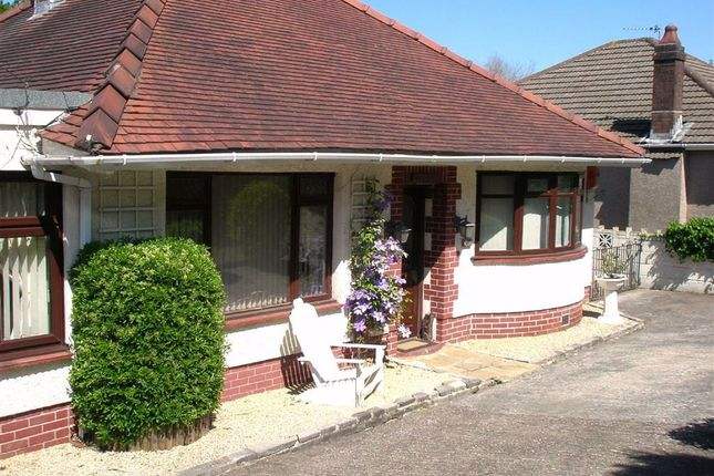 Thumbnail Detached bungalow for sale in Cwmbach Road, Fforestfach, Swansea