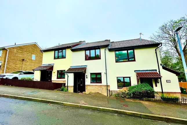 Thumbnail Terraced house for sale in Beechleigh Close, Greenmeadow, Cwmbran
