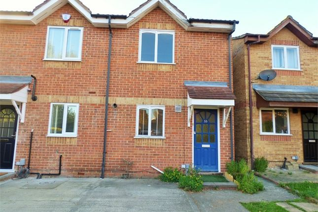 Thumbnail End terrace house for sale in Brindley Close, Wembley