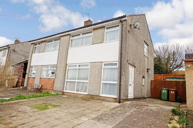 Thumbnail Semi-detached house for sale in St Annes Gardens, Maesycwmmer, Hengoed