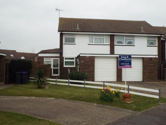 Thumbnail Semi-detached house for sale in Burrell Avenue, Lancing, West Sussex