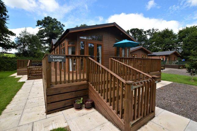 Thumbnail Detached bungalow for sale in Meldon Lodge Park, Graddon Cross, Tavistock Road, Okehampton