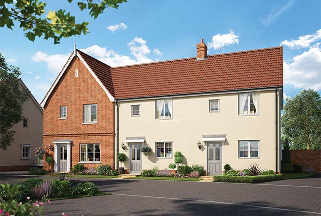 Thumbnail Semi-detached house for sale in The Littleport, Alconbury Weald, Former RAF/Usaaf Base, Huntingdon, Cambridgeshire