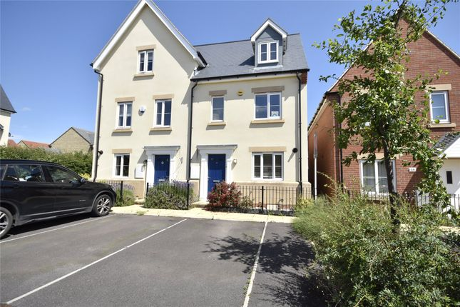 Thumbnail Semi-detached house for sale in Greenfinch Road, Bishops Cleeve, Cheltenham, Glos