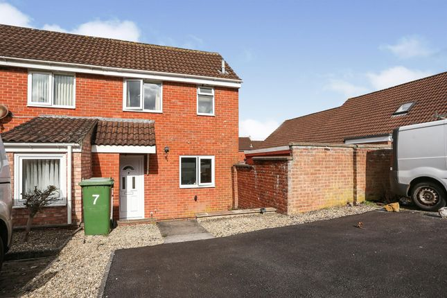 Thumbnail End terrace house for sale in Swallow Drive, Frome