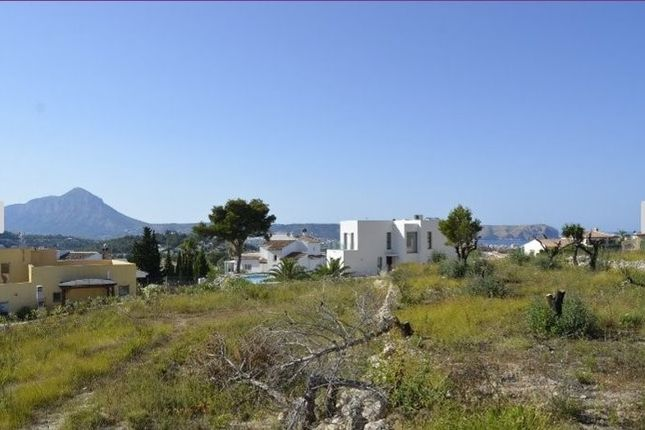 Land for sale in Adsubia, Jávea, Alicante, Valencia, Spain