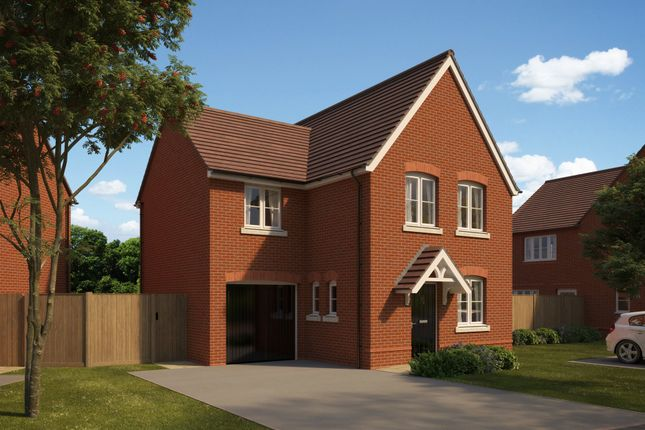 "Thumbnail Detached house for sale in ""Lytham"" at The Walk, Withington, Hereford"