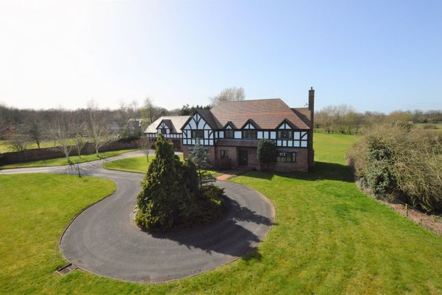 Thumbnail Detached house for sale in Welsh Road, Gorstella, Dodleston, Chester