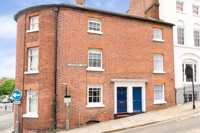 Thumbnail Terraced house for sale in Claremont Bank, Shrewsbury
