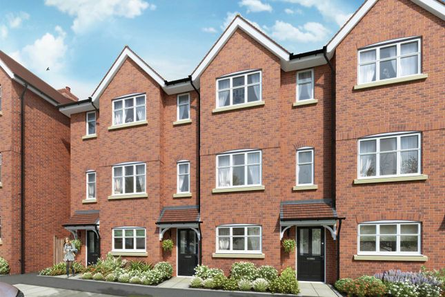 """Thumbnail Terraced house for sale in """"The Halton"""" at The Ridgeway, Enfield"""