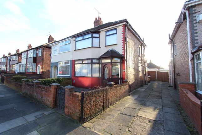 Thumbnail Semi-detached house for sale in Hawkshead Drive, Liverpool