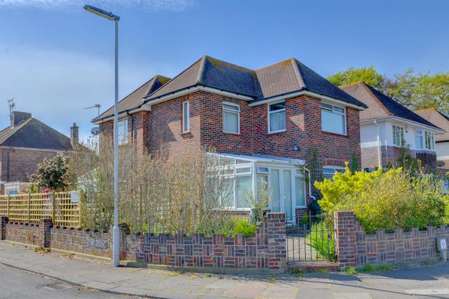 Thumbnail Detached house for sale in Alinora Avenue, Goring-By-Sea, Worthing