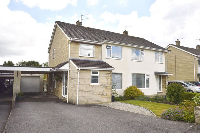 Thumbnail Semi-detached house for sale in Charlton Park, Midsomer Norton, Radstock