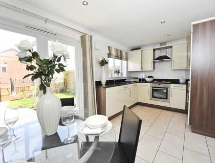 "Thumbnail Semi-detached house for sale in ""The Rufford"" at Riber Drive, Chellaston, Derby"