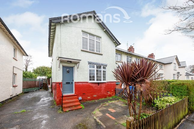 Thumbnail End terrace house to rent in Morland Road, Aldershot