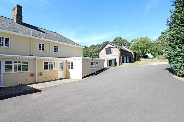 Thumbnail Cottage to rent in Bowerchalke, Salisbury
