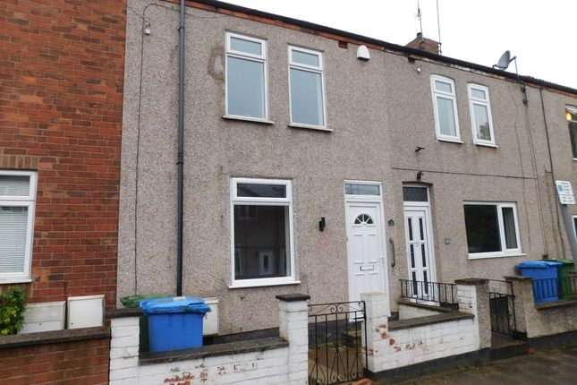 Thumbnail Terraced house to rent in Cliff Street, Mansfield