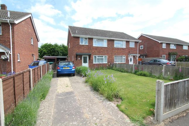 Thumbnail Semi-detached house for sale in Bush Road, Norwich