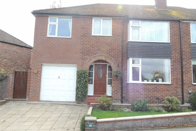 Thumbnail Semi-detached house for sale in Faywood Drive, Marple, Stockport