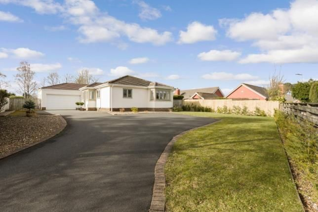 Thumbnail Bungalow for sale in Crossfell, Darras Hall, Ponteland, Northumberland