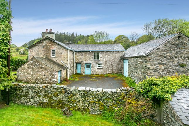 Thumbnail Detached house for sale in Hazelrigg & Hazelrigg Cottage, Hazelrigg Lane, Newby Bridge