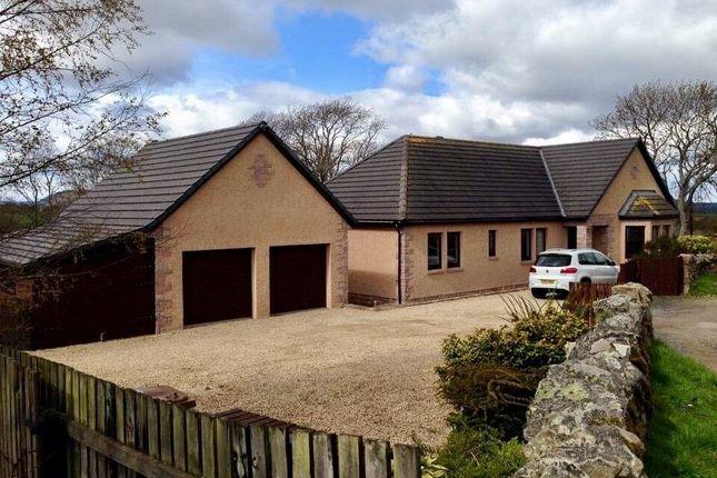 Thumbnail Detached bungalow for sale in Shougle, Birnie, By Elgin