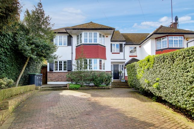 Thumbnail Semi-detached house for sale in Laurel Drive, Winchmore Hill
