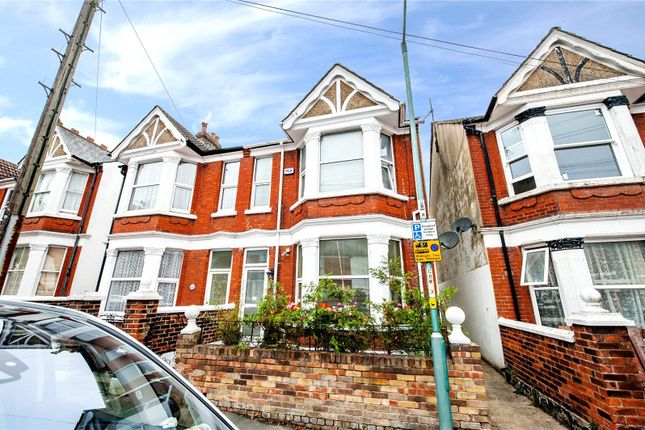 Thumbnail Terraced house to rent in Cleave Road, Gillingham, Kent