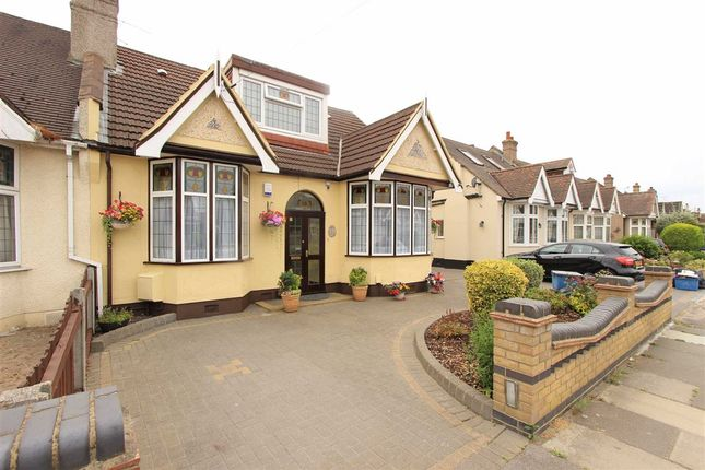 Thumbnail Semi-detached bungalow for sale in Trenance Gardens, Seven Kings, Essex