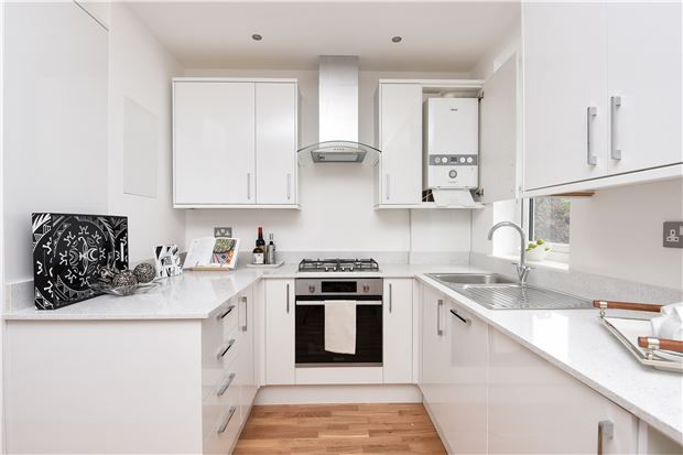 Thumbnail Flat for sale in Caithness Road, Mitcham, Surrey