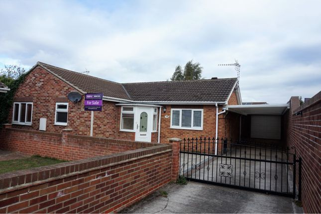 Thumbnail Detached bungalow for sale in Mill Field Court, Doncaster