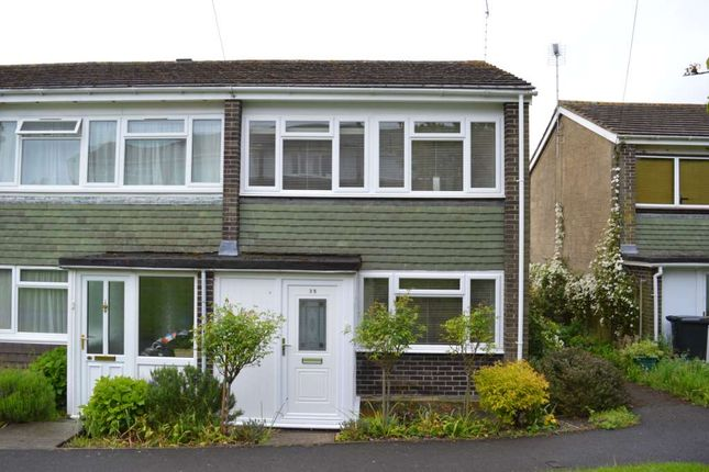 Thumbnail End terrace house to rent in Orchard Park Close, Hungerford