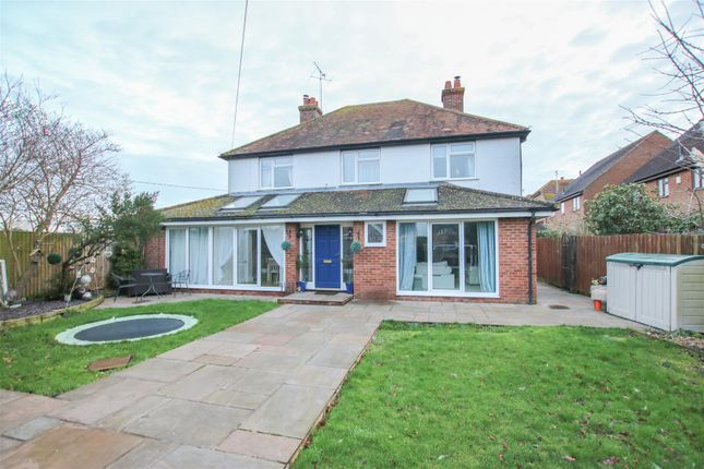 Detached house for sale in Pendal House, Burcott Lane, Bierton, Aylesbury