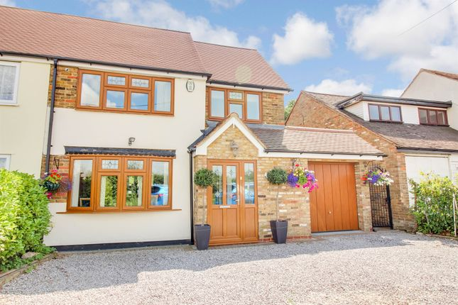 Thumbnail Semi-detached house for sale in Stock Road, West Hanningfield, Chelmsford