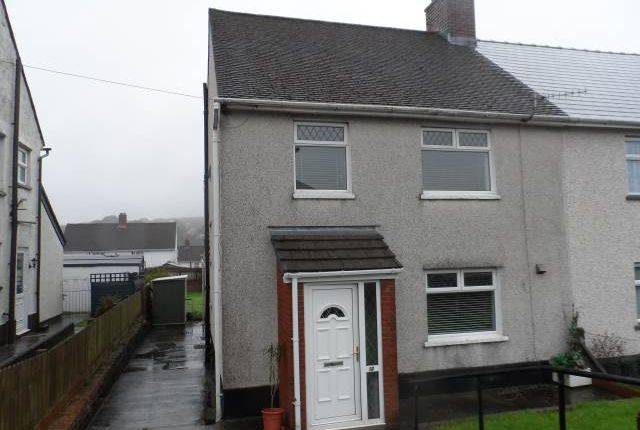 Thumbnail Semi-detached house to rent in Badminton Grove, Ebbw Vale