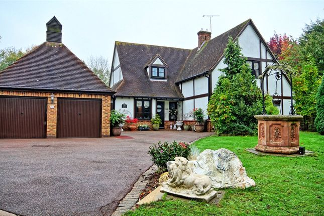 Thumbnail Detached house for sale in Wiscombe Hill, Langdon Hills, Essex