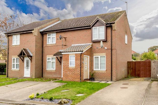 Thumbnail End terrace house for sale in Nicholas Hamond Way, Swaffham