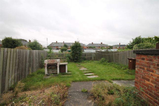 Garden of Holystone Crescent, Heaton, Newcastle Upon Tyne NE7